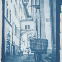 Cyanotype Bicycle
