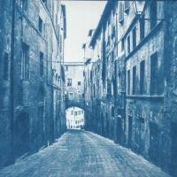 Cyanotype Tuscany street II