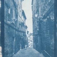 Cyanotype Tuscany street V