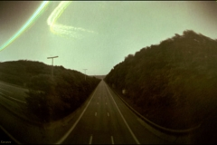 Solargraphy Jacques Kevers Desert highway