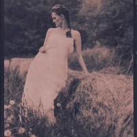 Cyanotype Romantic fashion 1