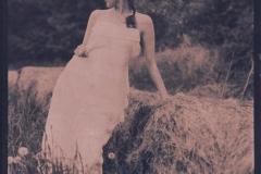 Cyanotype Romantic fashion 1