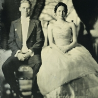 Wetplate Prom Picture of my Daughter
