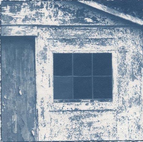 Cyanotype Blue Door