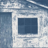 Cyanotype Blue Door