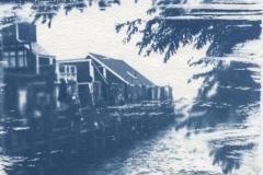 Cyanotype The Tide is In