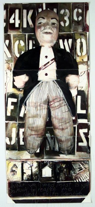 Pinhole handpainted Mr Swingline