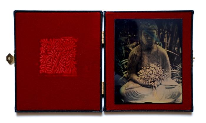 Tintype dryplate Budda