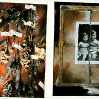 Pinhole handpainted Disappearing Children