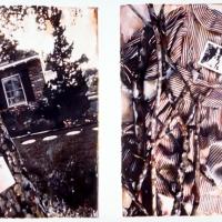 Pinhole handpainted Lost Letters