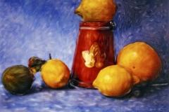 Polaroid SX-70 Citrus Fruits 1