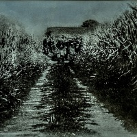 Bromoil-The-corn-field-house