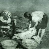 Bromoil-The-washerwoman