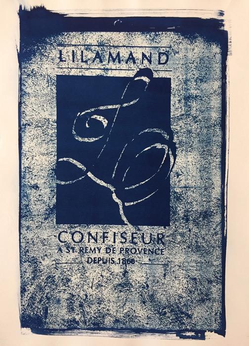 lilamand 35x50cm