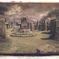 Gum-Bichromate-Druids-Temple
