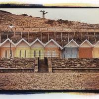 Gum-Bichromate-Scarborough-Beach-Huts
