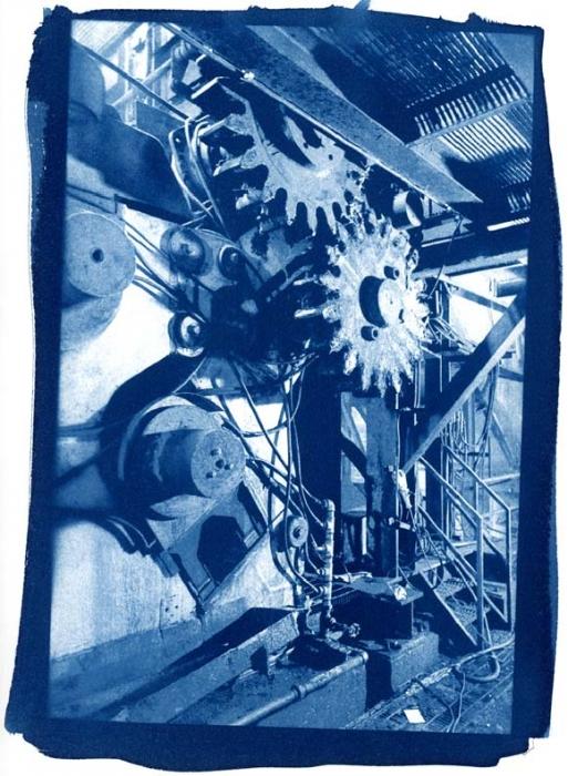 Cyanotype Crusher Gears