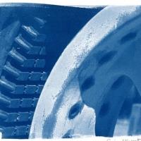 Cyanotype Stator Winding