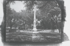 Chrysotype 01 The Fannin Monument In Goliad Texas
