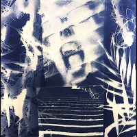 Cyanotype-Stairway-To-Denise