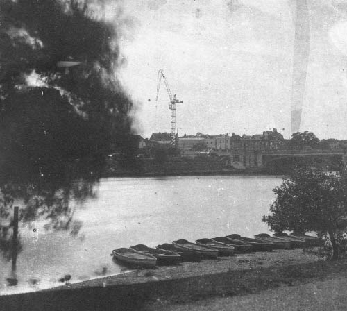 Calotype View of river