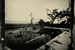 Wetplate collodion Pool West Beach and Barkley Pass