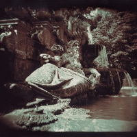 Gum bichromate 10 River God