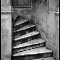Carbon print Stairs Istanbul