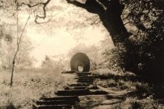 Lith print Archway