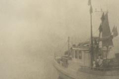 Lith print Boat