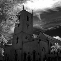 Infrared Nassau Church 2