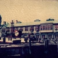 Polaroid transfer NYC Pier