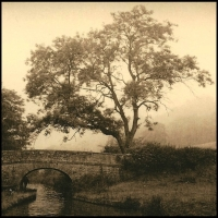 Lith print Langollyn Canal