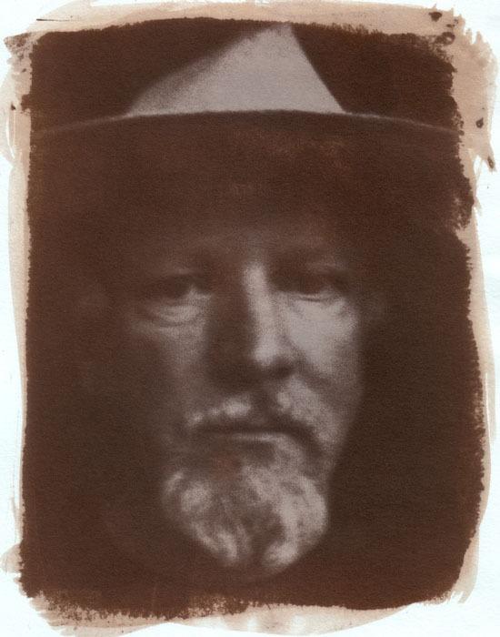 Albumen-Pinhole-self-portrait