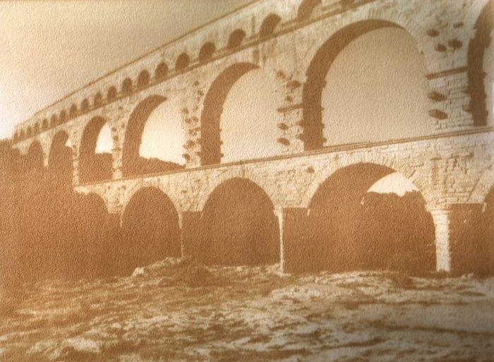 Gum-Bichromate-Pont-Du-Gard