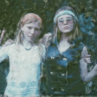 Polaroid SX-70 Hippie chicks