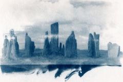Cyanotype Callanish