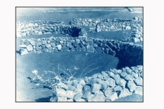 Cyanotype La Geria