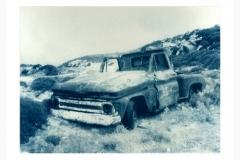 Cyanotype Wrecked car 2