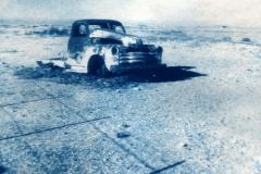 Cyanotype Wrecked car1