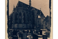 Toned Cyanotype Ritterkapelle