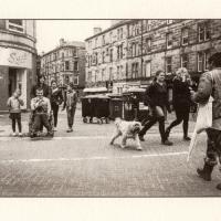 Kallitype Edinburgh Street Scene 1