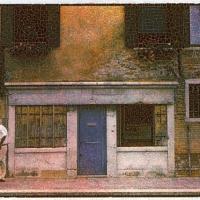 Gum bichromate venetian stroll