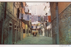 Gum bichromate venetian laundry day
