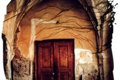 Polaroid emulsion lift Churchdoor 2