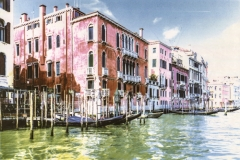 Four colour carbon transfer Venice Series 8