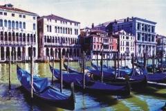 Four colour carbon transfer Venice Series 9