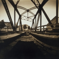 Pinhole Abandoned bridge II