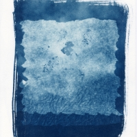 Cyanotype channeling Rothko 5