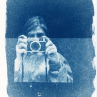 Cyanotype self Portrait